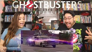 Ghostbusters AFTERLIFE - Official Trailer Reaction / Review