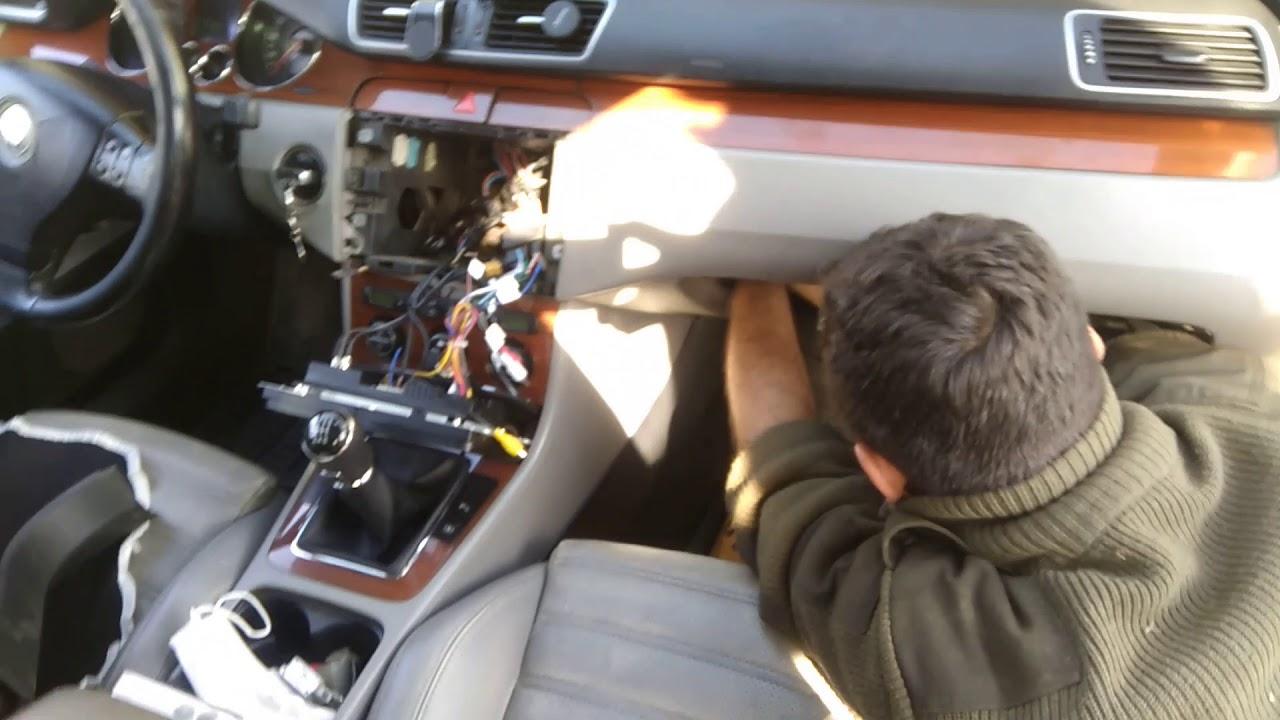 B6 wosvagen passat geri görüş kamera montajı(  B6 wosvagen passat rear view camera assembly)