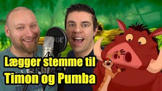 Vi er Timon og Pumba!