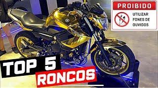 TOP 5 - Os Roncos Mais lindos Das Motos 3 e 4 cilindros ( Minha Opinião )