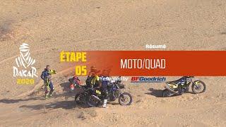 Dakar 2020 - Étape 5 (Al Ula / Ha'il) - Résumé Moto/Quad