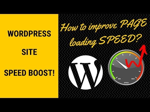 How To Improve Wordpress Site Speed. 6 Important Tips.