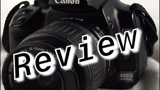 Canon 400D DSLR Review