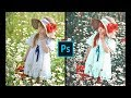 Photoshop CC Tutorial - Red Dramatic Vintage Editing