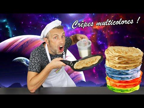 crÊpes-multicolores-!-confection-de-crÊpes-extraterrestres-!-les-planètes-dans-notre-assiette-!