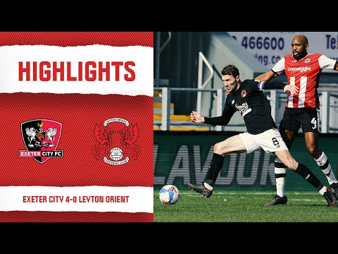 Exeter City Leyton Orient Goals And Highlights