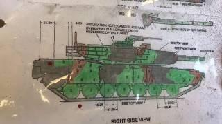 """США перефарбовують танки М-1 Abrams в """"європейський"""" окрас"""