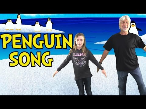 Penguin Song - Penguin Dance - Brain Breaks - Children's Songs by The Learning Station