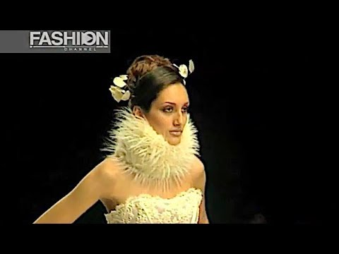 CIAMBELLA Fall 1997 1998 Haute Couture Rome - Fashion Channel