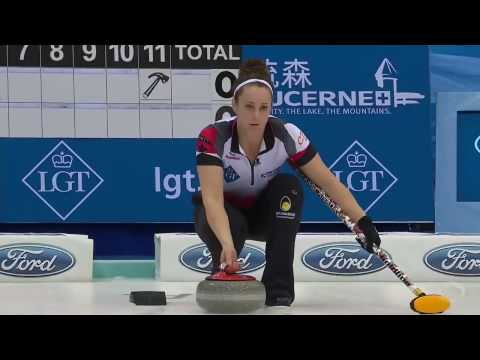 2017 World Womens Curling Championship - Canada (Homan) vs. Scotland (Muirhead)