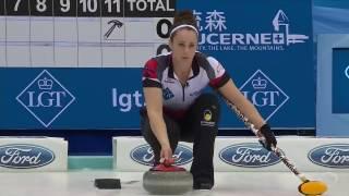 2017 World Womens Curling Championship - Canada (Homan) vs. Scotland (Muirhead)