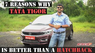 New Tata Tigor BS6 - 7 Reasons To Consider over a Hatchback