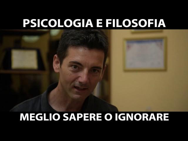 PSICOLOGIA E FILOSOFIA: meglio un attore colto o ignorante?