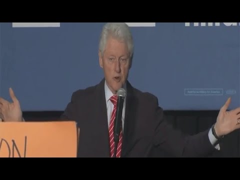 Bill Clinton Defends His 1994 Crime Bill To Black Lives Matter Protesters In A Condesending Response