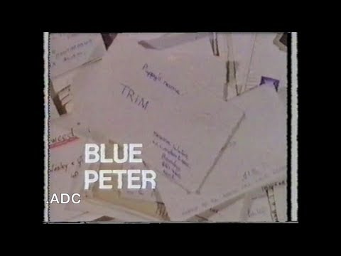 Blue Peter 23rd September 1971 BBC TV Production