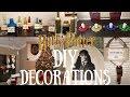 DIY Harry Potter Christmas Decorations