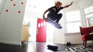 Balance Board Tricks Challenge!