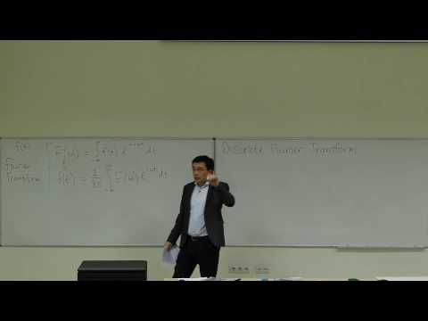 Computational Physics Lecture 19, Discrete Fourier Transform and Fast Fourier Transform