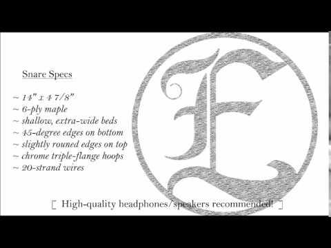 ecd snare sound sample youtube. Black Bedroom Furniture Sets. Home Design Ideas