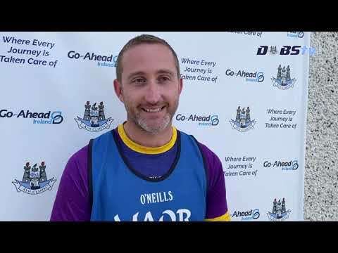 Kilmacud Crokes joint-manager Donal McGovern speaks to DubsTV following victory over St Brigids