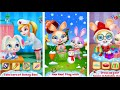 Bunny Boo My Christmas Pet Coco Play Tabtale Android İos Free Game GAMEPLAY VİDEO