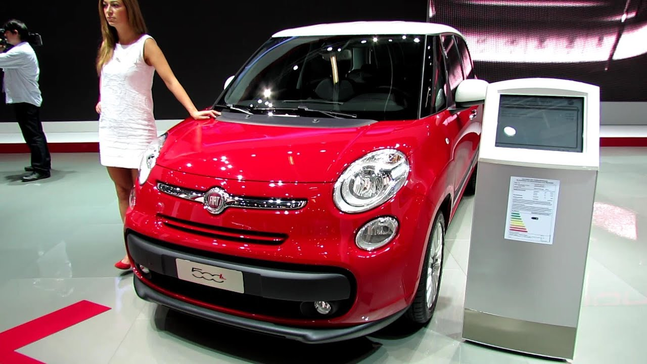 2014 fiat 500l pop star exterior and interior walkaround. Black Bedroom Furniture Sets. Home Design Ideas