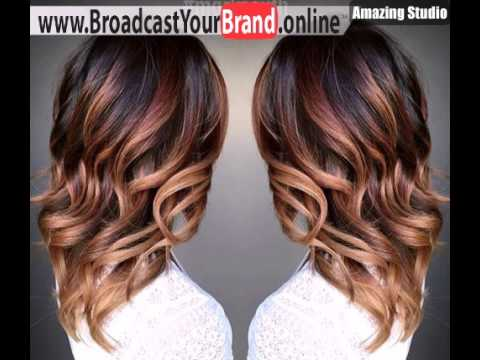 Curly chocolate into caramel ombre youtube curly chocolate into caramel ombre hair time urmus Image collections