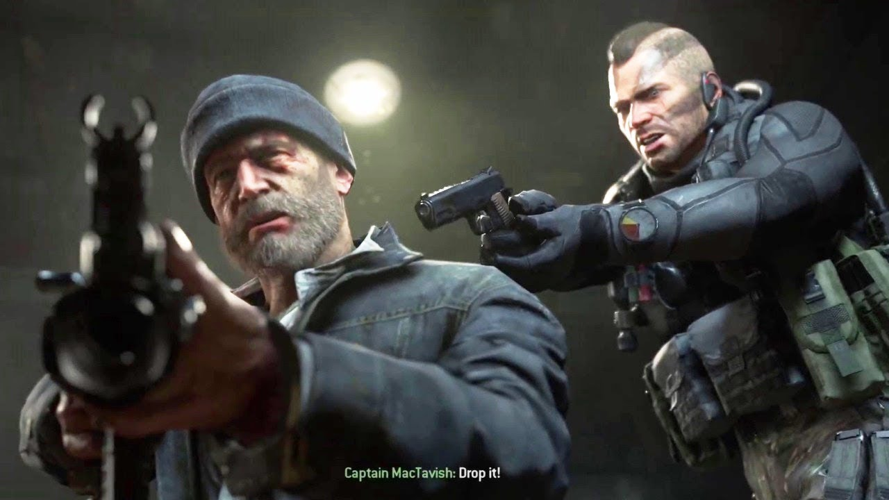 Soap Rescues Captain Price From Gulag Call Of Duty Modern