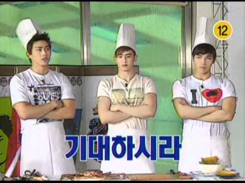 110712 [Preview] 2PM SHOW (Cooking)