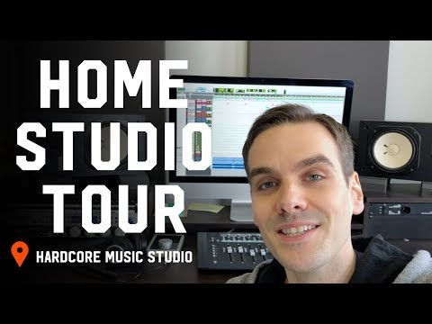 Studio Tour 2018: My Home Mixing Setup