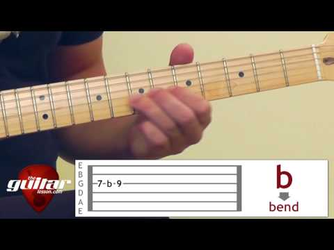 How to read guitar tabs (tablature )
