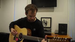 Fender CD60SCE 12 String Acoustic Guitar Demonstration