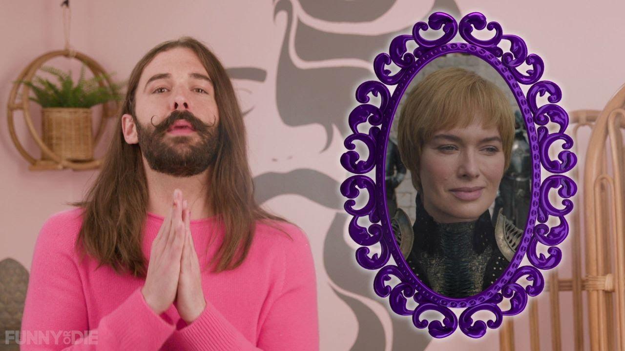 Wig Warging with Jonathan Van Ness: Evil Carol Brady