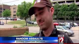 Son of prosecutor beaten in random downtown attack