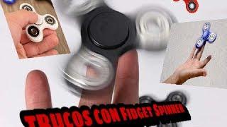 LOS MEJORES TRUCOS CON FIDGETS SPINNERS (99% IMPOSIBLE) NIVEL DIOS SUPREMO!!JEFRIDERMAN
