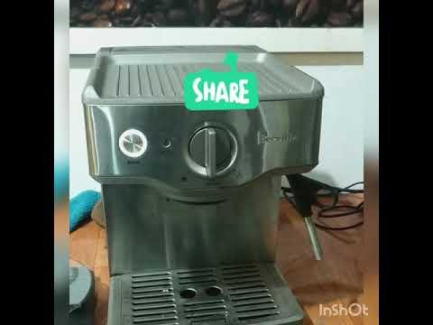 Espresso machine breville venezia   review and test