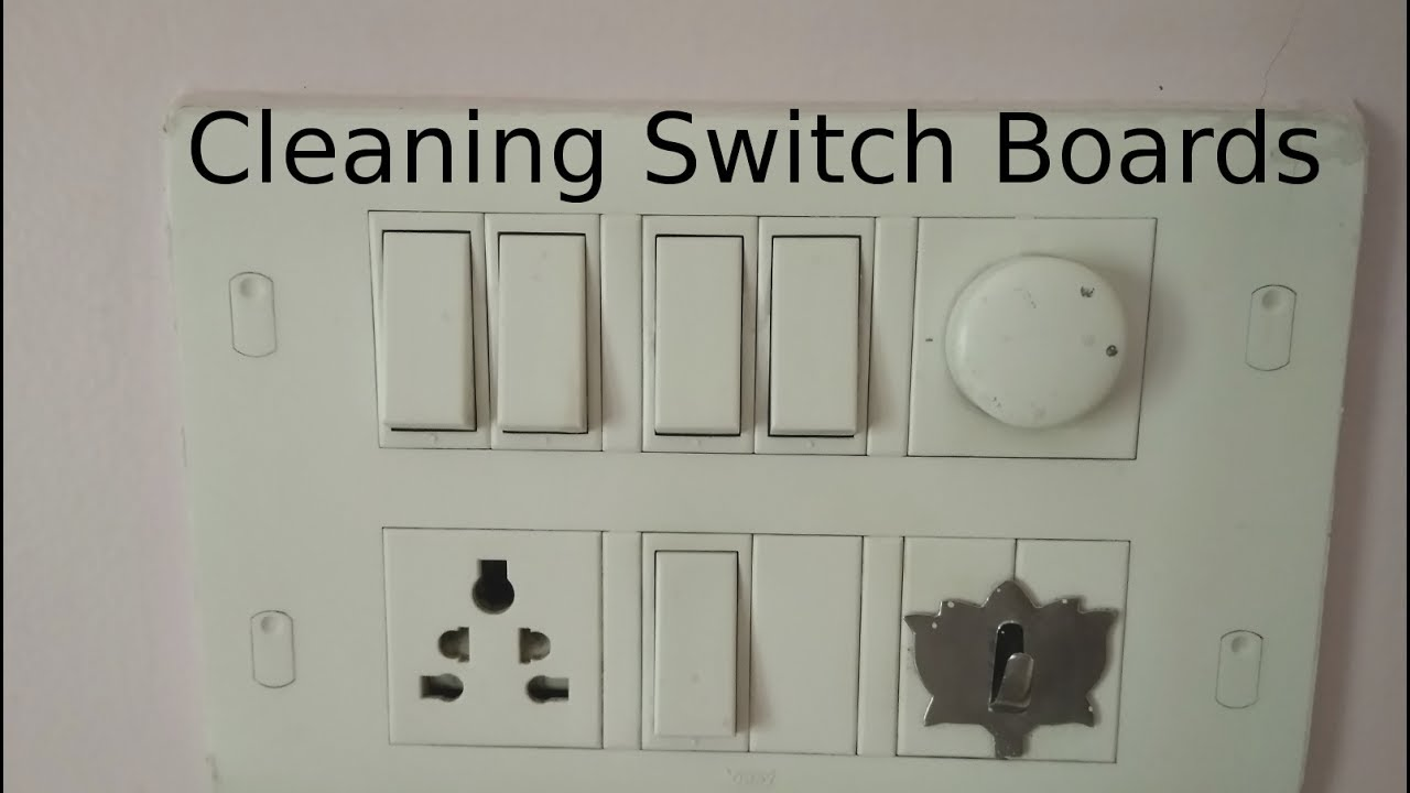 Cleaning Switchboards - YouTube