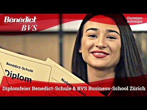 Diplomfeier der Benedict-Schule & BVS Business-School Zürich 2019