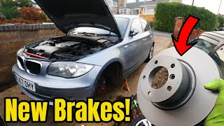 The BMW Gets New Brakes!