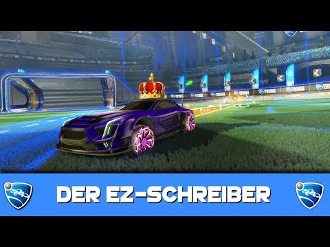 Der EZ-SCHREIBER 🚀 Rocket League German Gameplay thumbnail