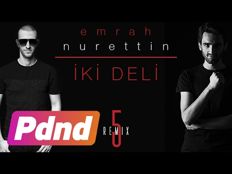 Emrah Nurettin - İki Deli (Lyrics Video) (Feat. Hande Yener & Serdar Ortaç)