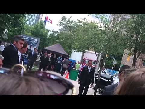 Suits  Season 4  Toronto  Mike Ross and Harvey Filming