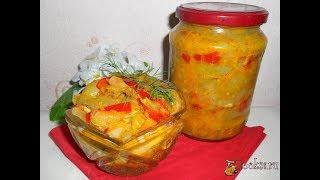Икра-салат из зеленых помидоров (моб)