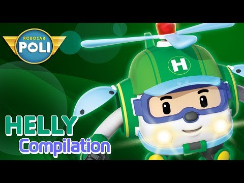 Helly! Let's rescue our friends!   Robocar POLI Special