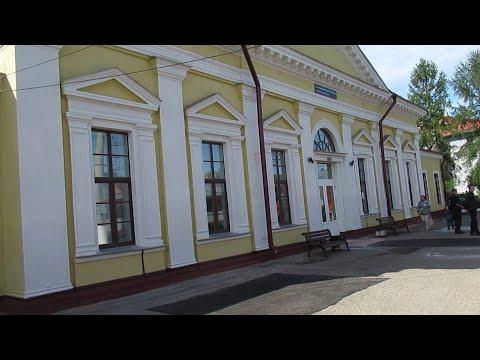 Поездка на поезде Псков – Печоры; город Печоры, автобусы