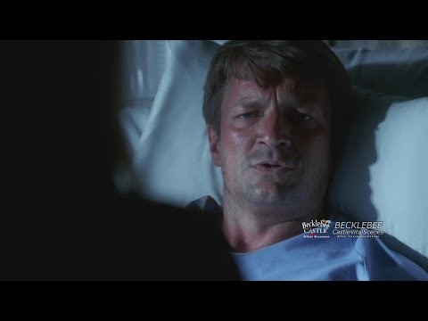 "Castle 7x01 ""Driven"" Beckett Confronts Castle Hospital Scene Amnesia"