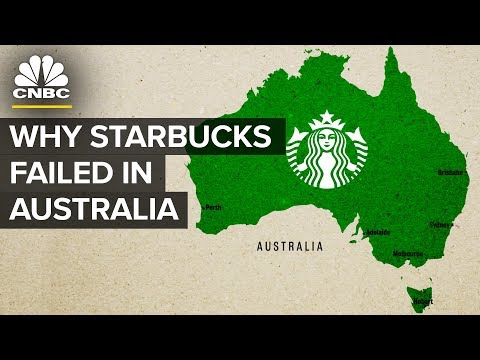 Why Starbucks Failed In Australia | CNBC
