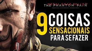 9 Coisas Bizarras, Engraçadas e Épicas Para se Fazer em Metal Gear Solid V : The Phantom Pain