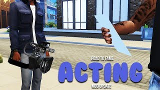ACTING CAREER | Road to Fame mod Update | The Sims 4 mods