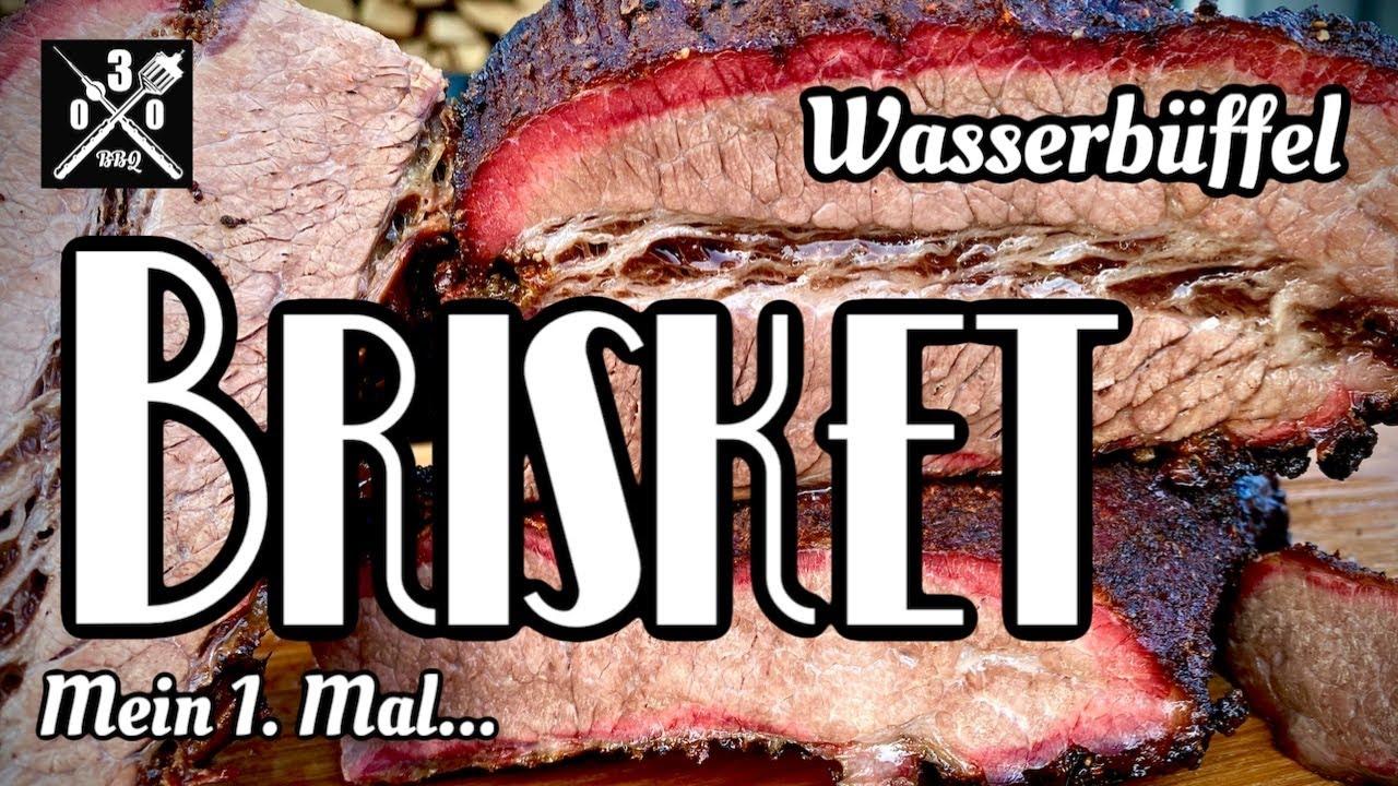 Wasserbüffel Brisket vom Smoker - 030 BBQ